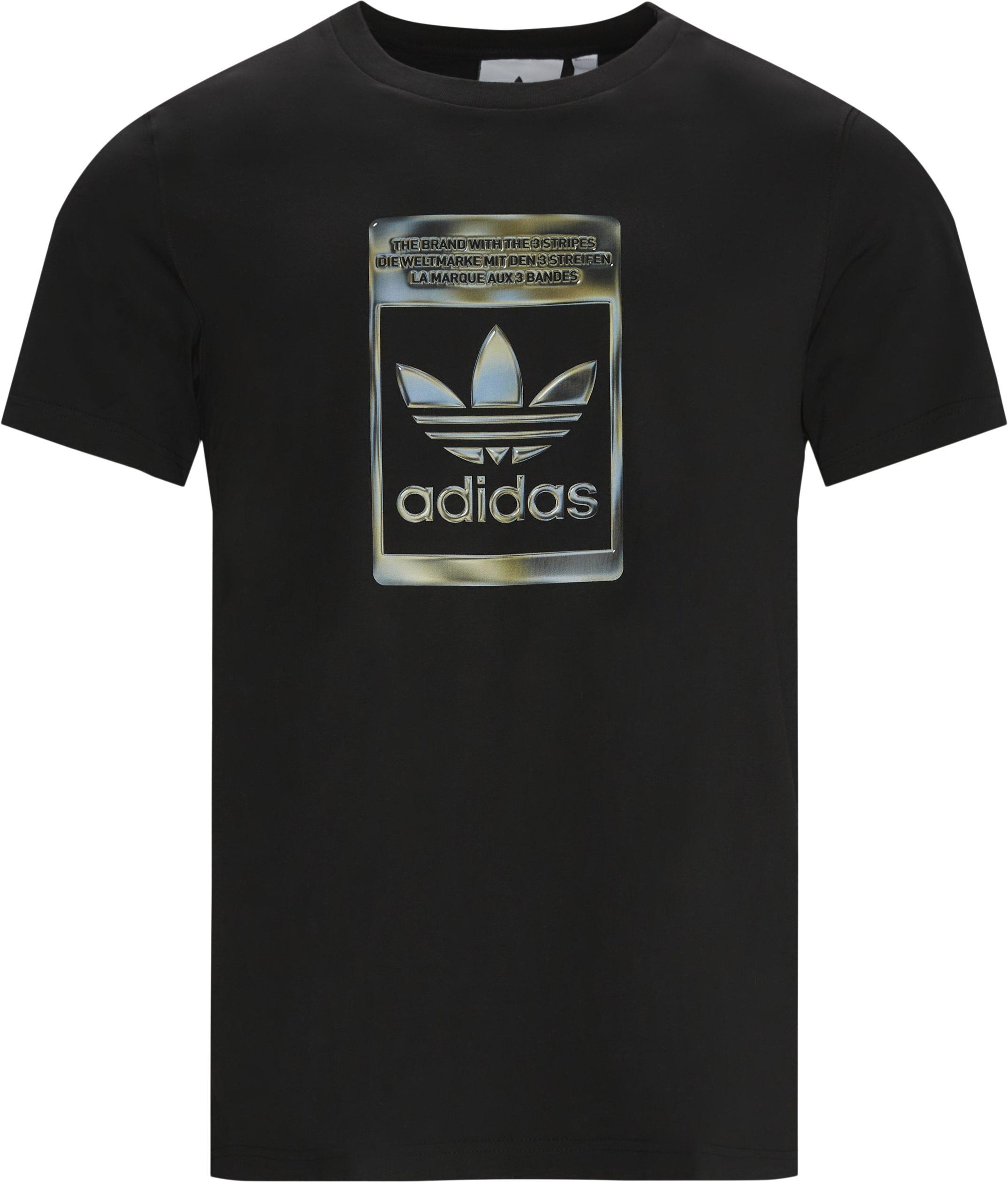 Infill Tee - T-shirts - Regular fit - Sort