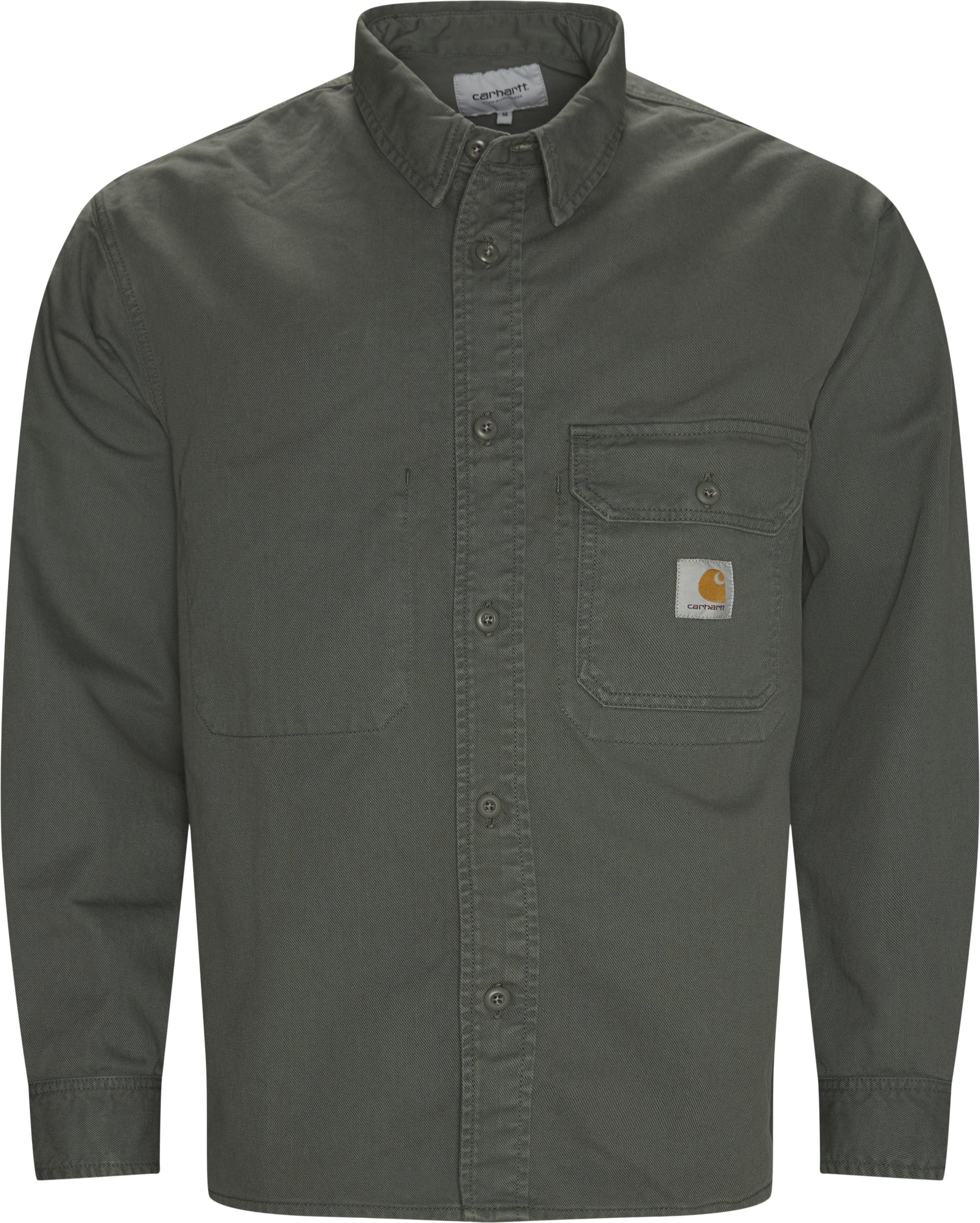 Reno Skjorte - Skjortor - Regular fit - Grön