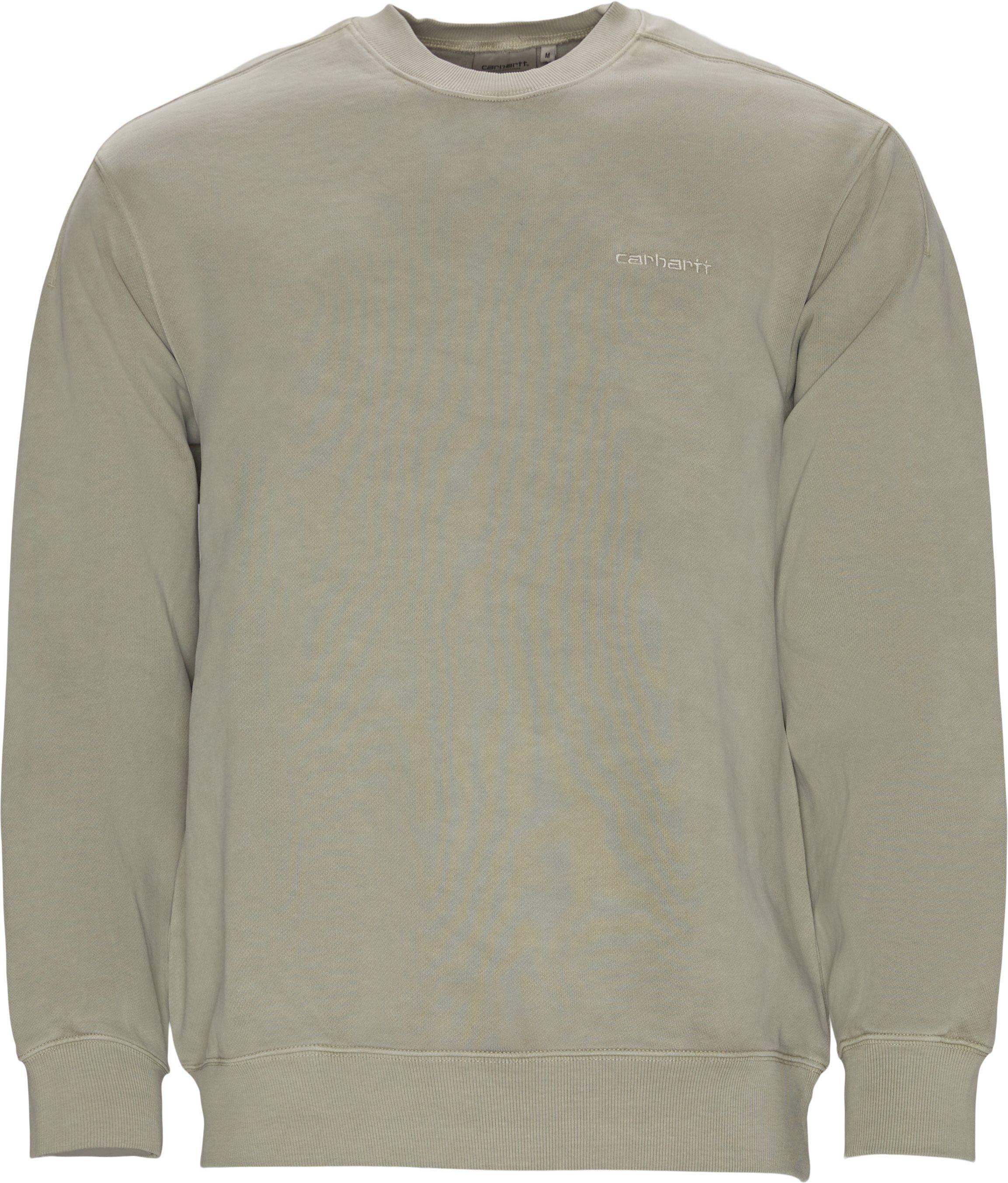 Ashfield Crewneck Sweatshirt - Sweatshirts - Regular fit - Sand