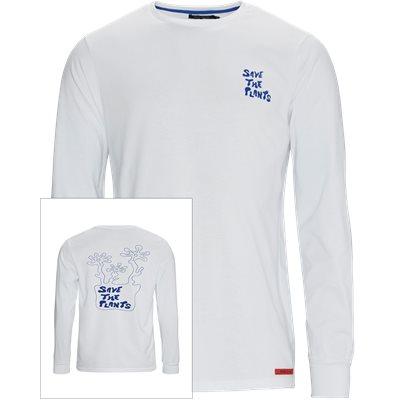 JEREMY Langærmet T-shirt Regular fit | JEREMY Langærmet T-shirt | Hvid