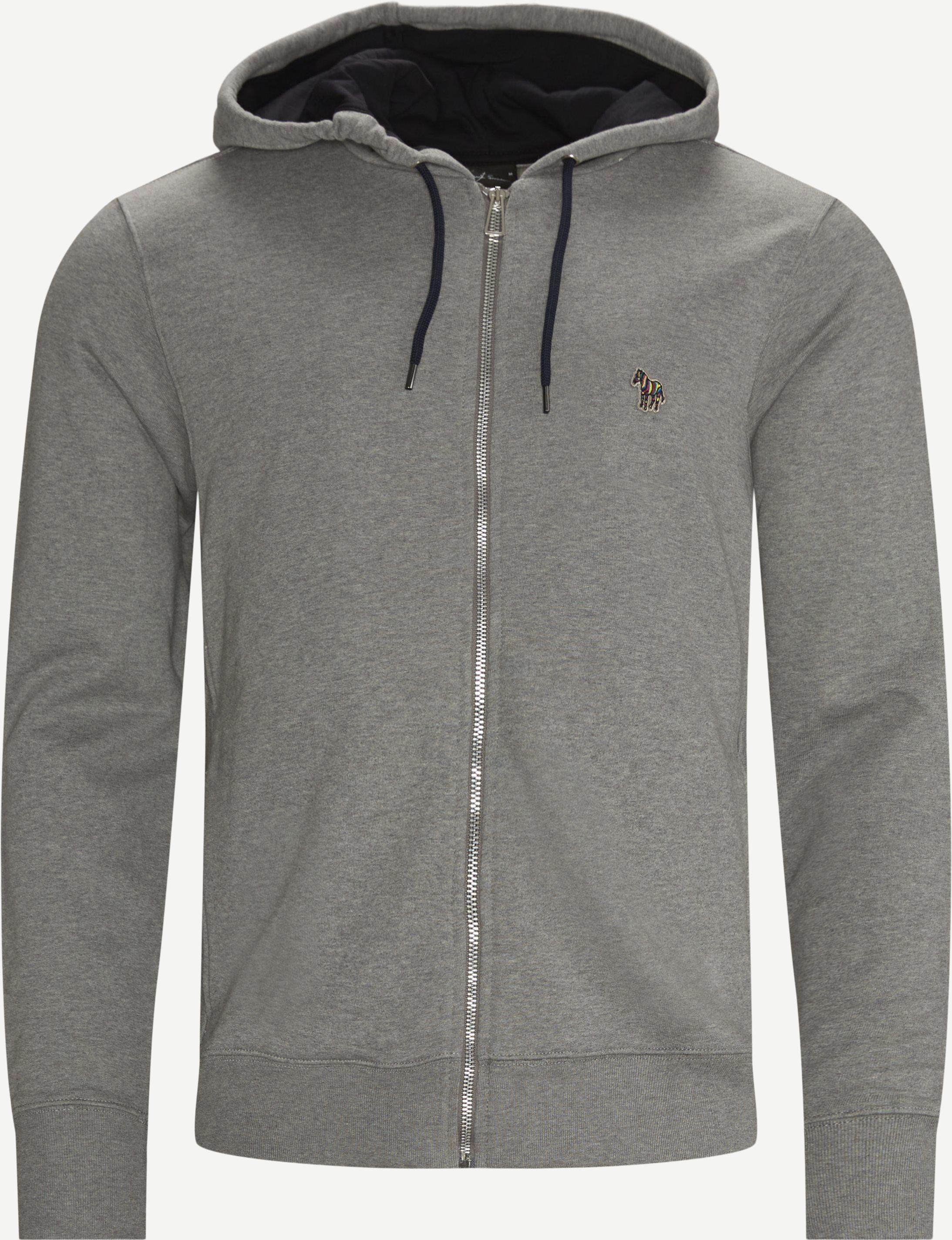 Sweatshirts - Regular fit - Grey