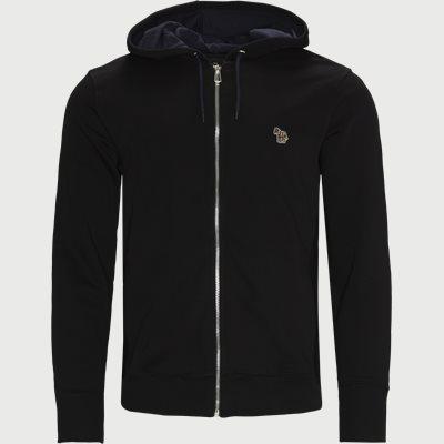 Fzebra Hooded Zip Sweatshirt Regular fit | Fzebra Hooded Zip Sweatshirt | Sort