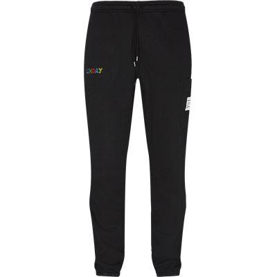 ALGERIA sweatpants Regular fit | ALGERIA sweatpants | Sort
