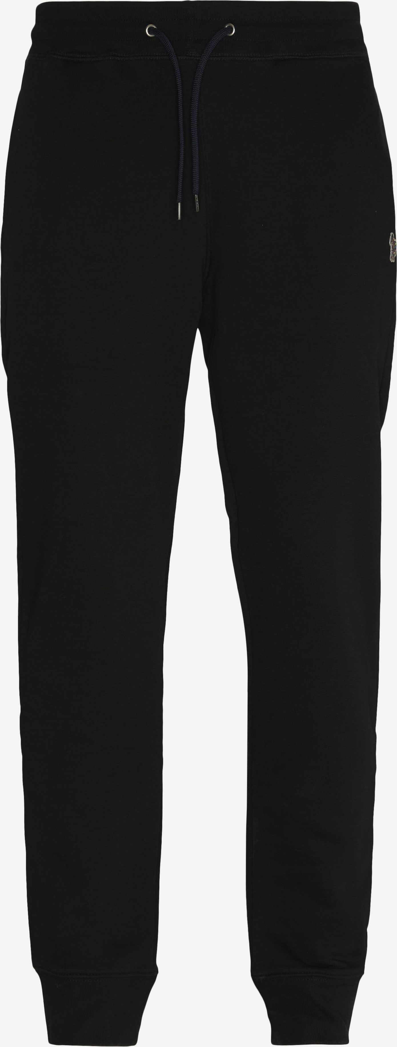Byxor - Regular fit - Svart