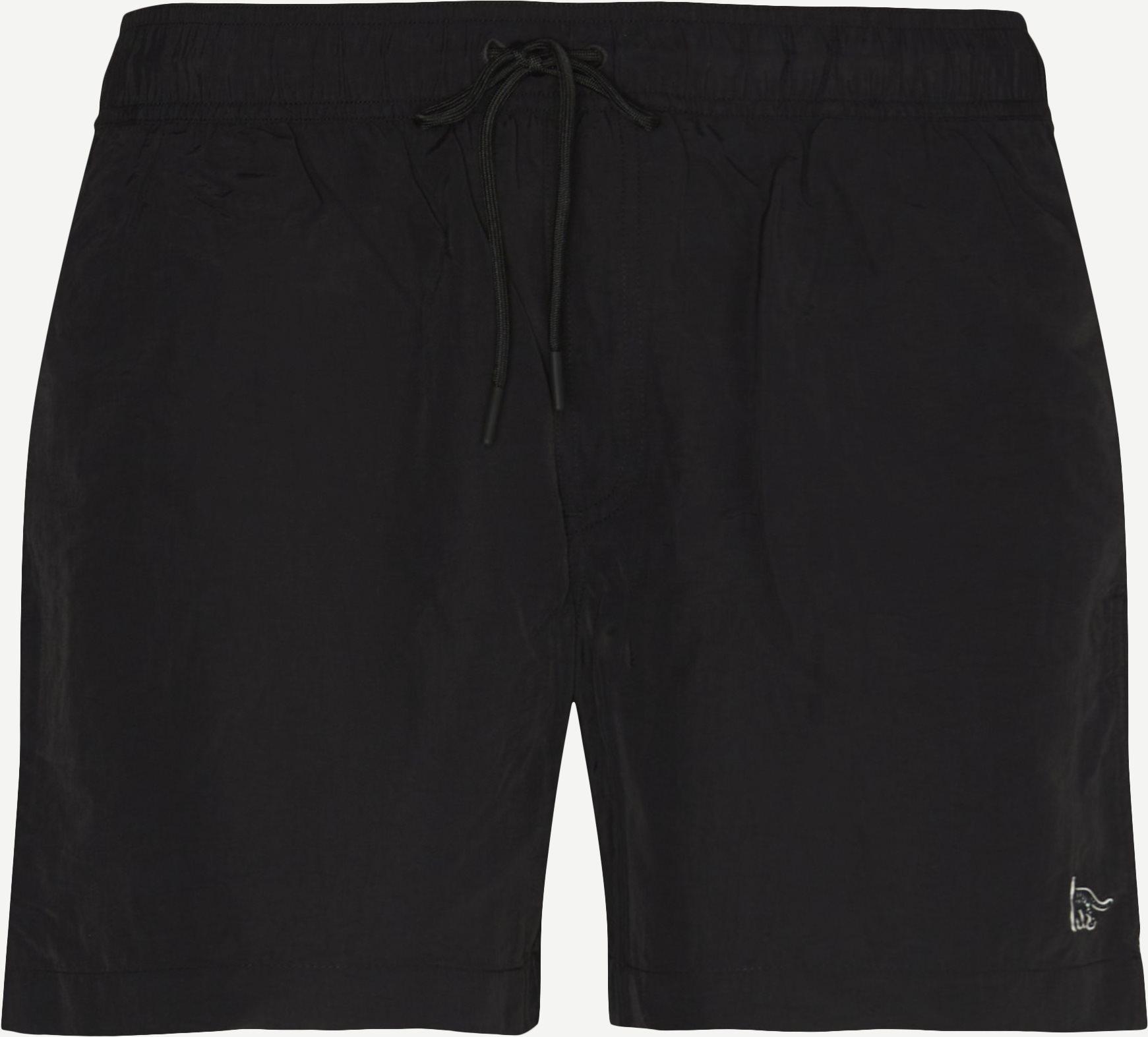 Shorts - Regular fit - Schwarz