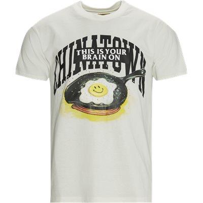 SMILEY BRAIN ON FRIED t-shirt Regular fit | SMILEY BRAIN ON FRIED t-shirt | Sand