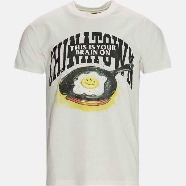 SMILEY BRAIN ON FRIED t-shirt