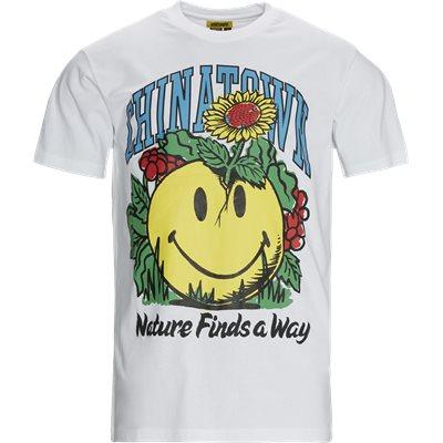 SMILEY PLANTER t-shirt Regular fit | SMILEY PLANTER t-shirt | Hvid