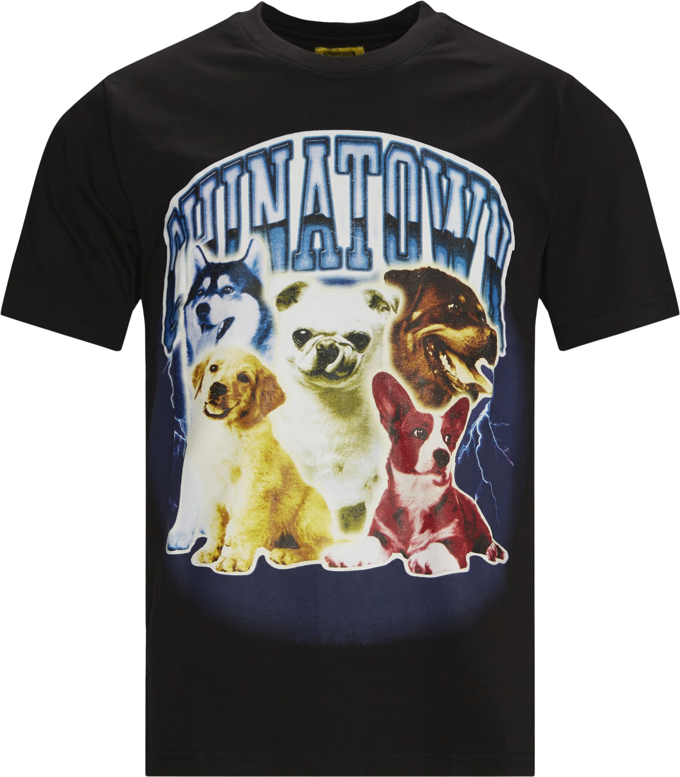 DAWG LIGHTNING t-shirt - T-shirts - Regular fit - Sort