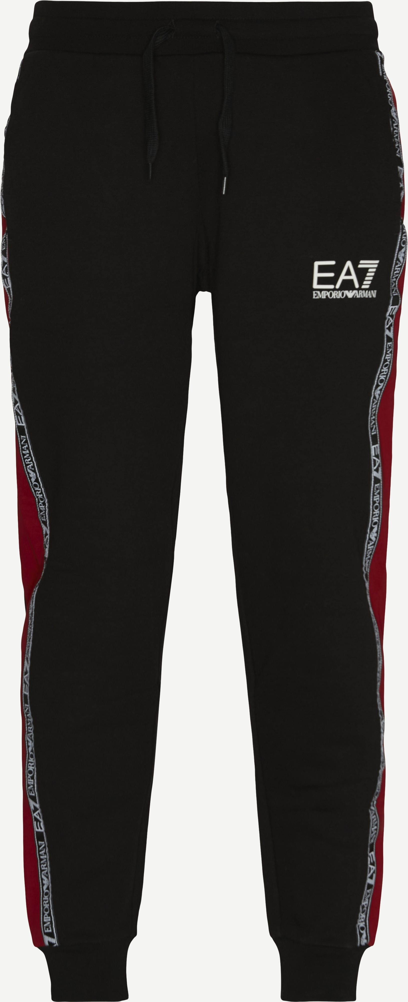 Trousers - Regular fit - Red