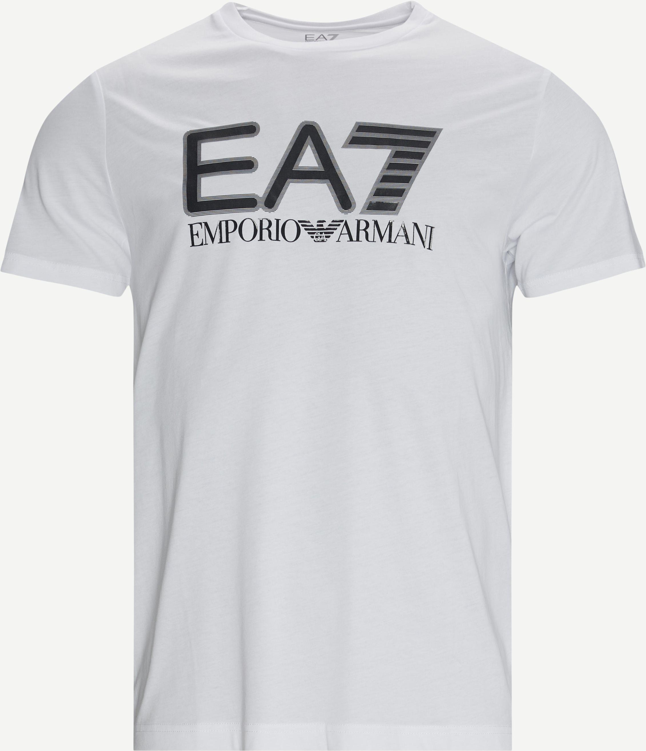 PJM9Z Logo T-shirt - T-shirts - Regular fit - Hvid