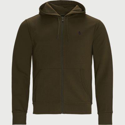 Hooded Zip Sweatshirt Regular fit | Hooded Zip Sweatshirt | Army