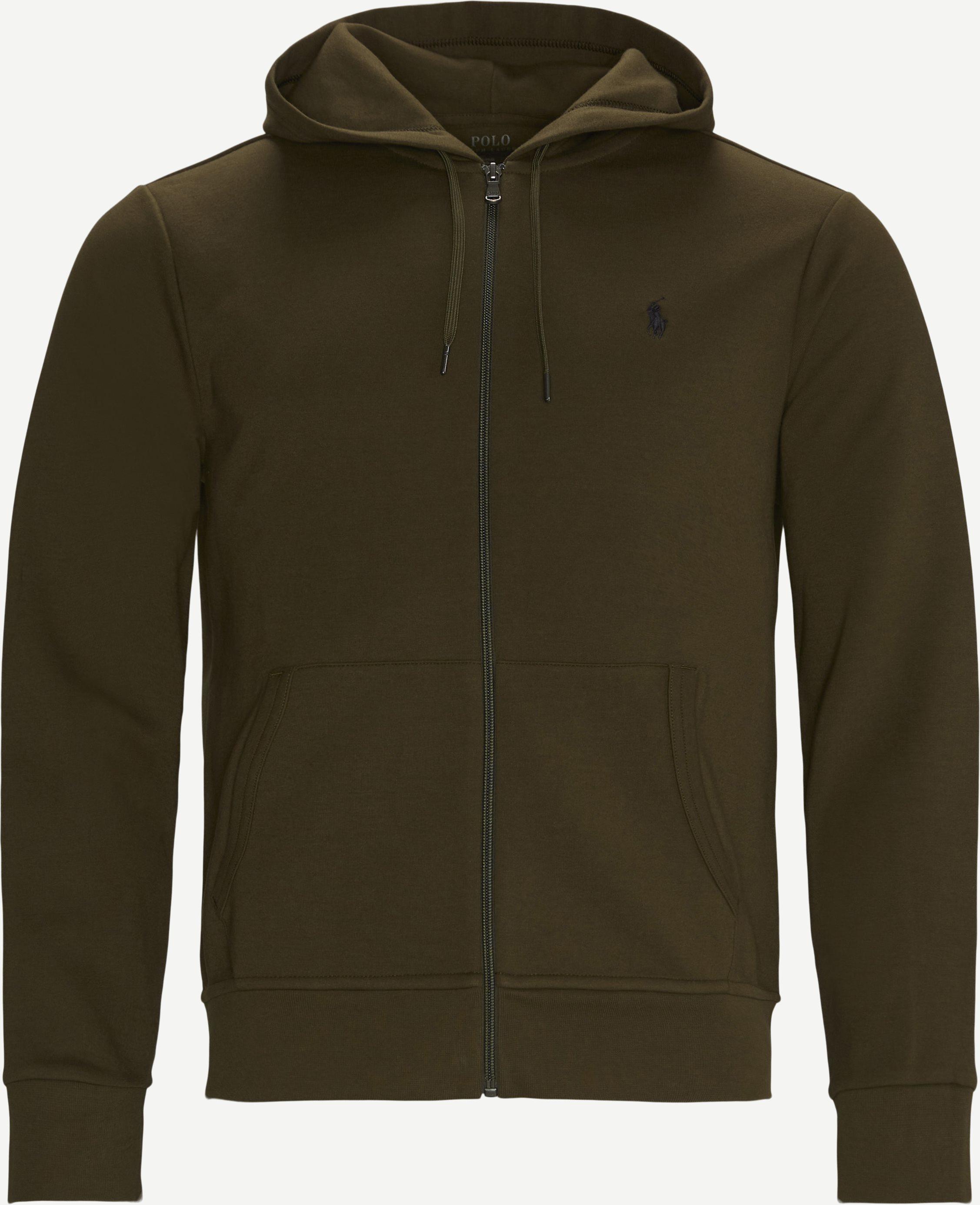 Sweatshirts - Regular fit - Oliv