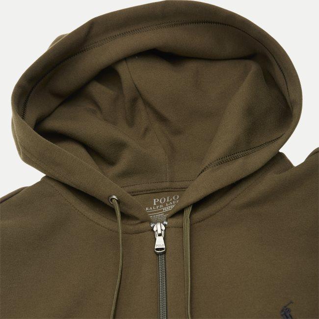 Hooded Zip Sweatshirt