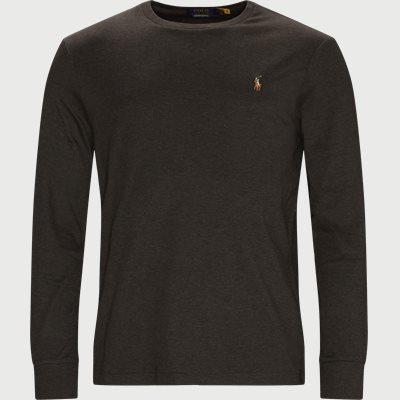 Regular slim fit | T-shirts | Grå