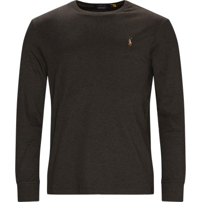 Soft Touch Long Sleeve Tee Regular slim fit | Soft Touch Long Sleeve Tee | Grå