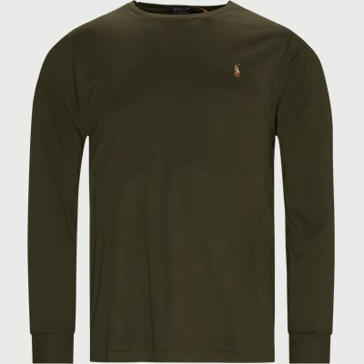 Soft Touch Long Sleeve Tee Regular slim fit | Soft Touch Long Sleeve Tee | Army