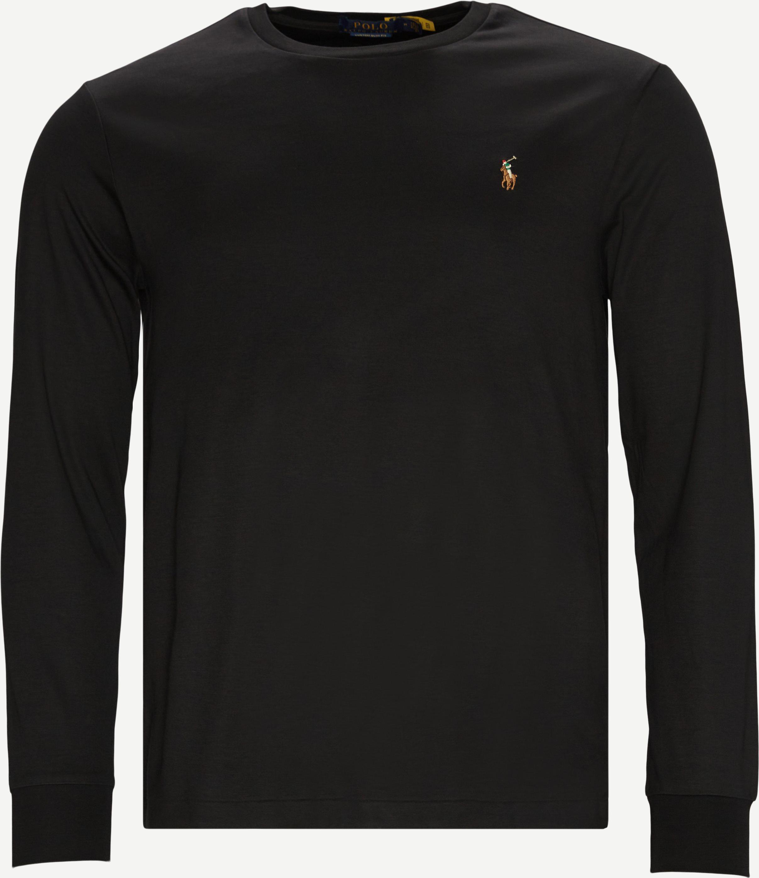 T-Shirts - Regular slim fit - Schwarz