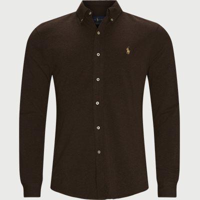 Featherweight Mesh Shirt Regular fit | Featherweight Mesh Shirt | Brun