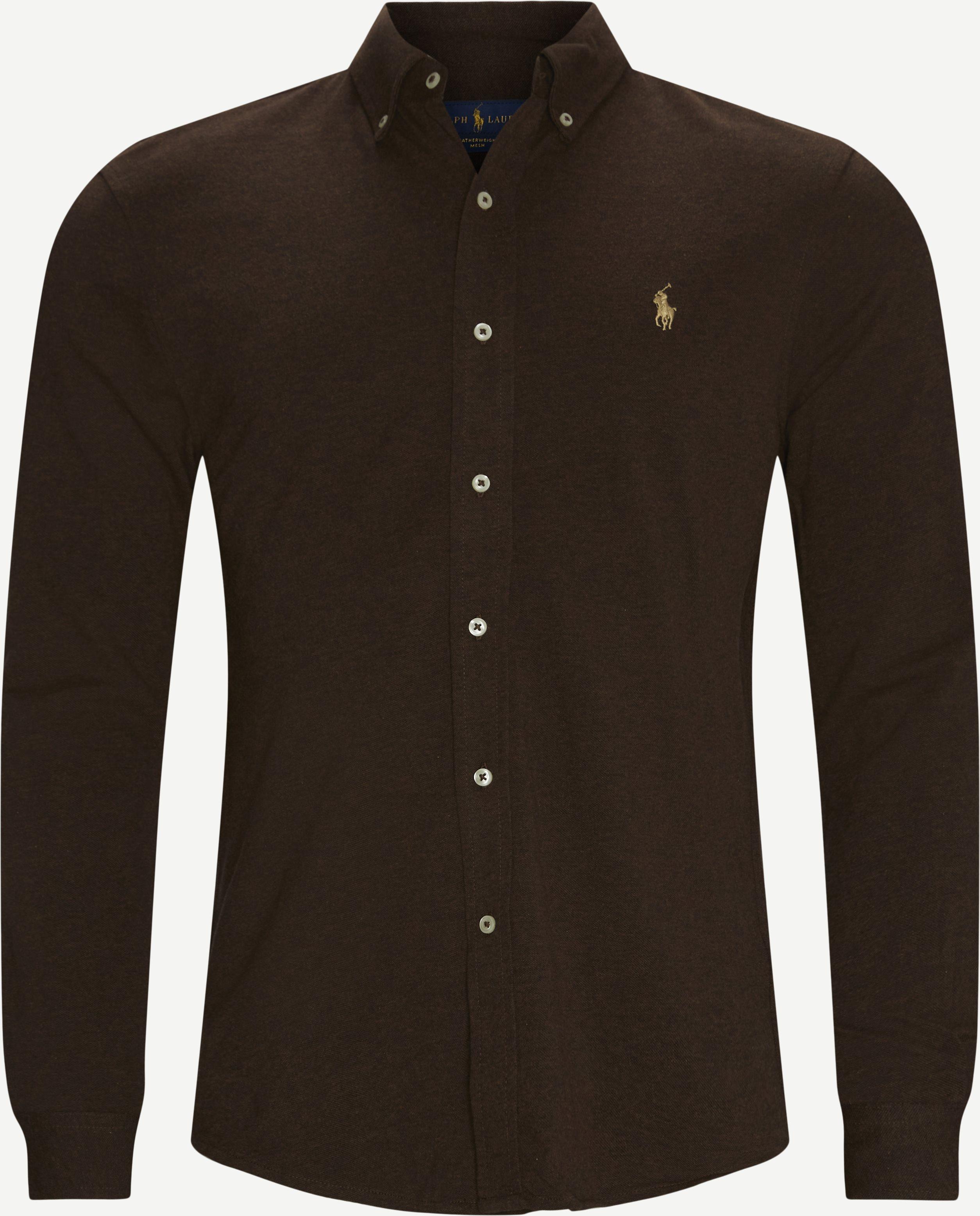 Hemden - Regular fit - Braun