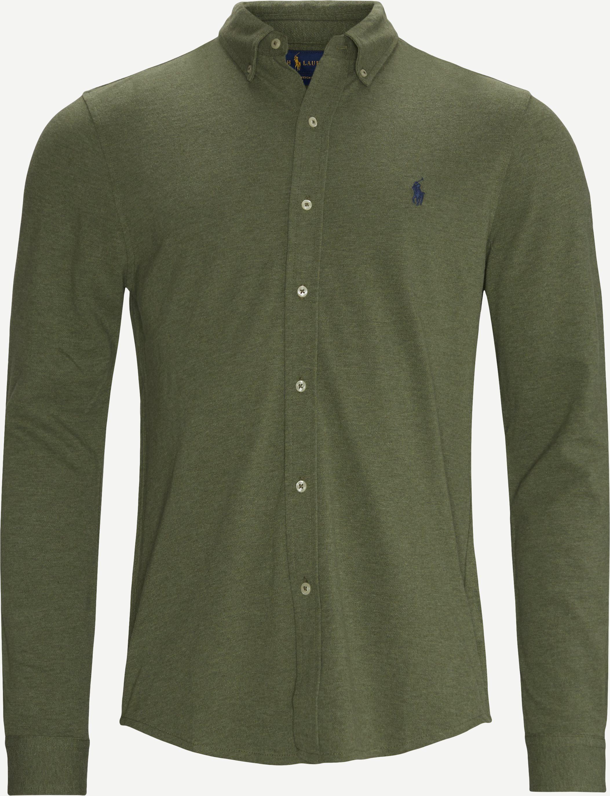 Hemden - Regular fit - Oliv