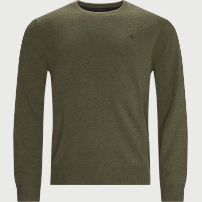 Crew Neck Knit Regular fit | Crew Neck Knit | Army