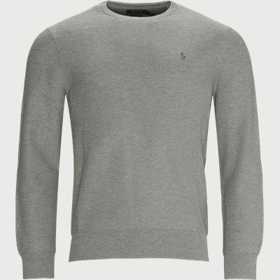 Cotton Crewneck Jumper Regular fit | Cotton Crewneck Jumper | Grå
