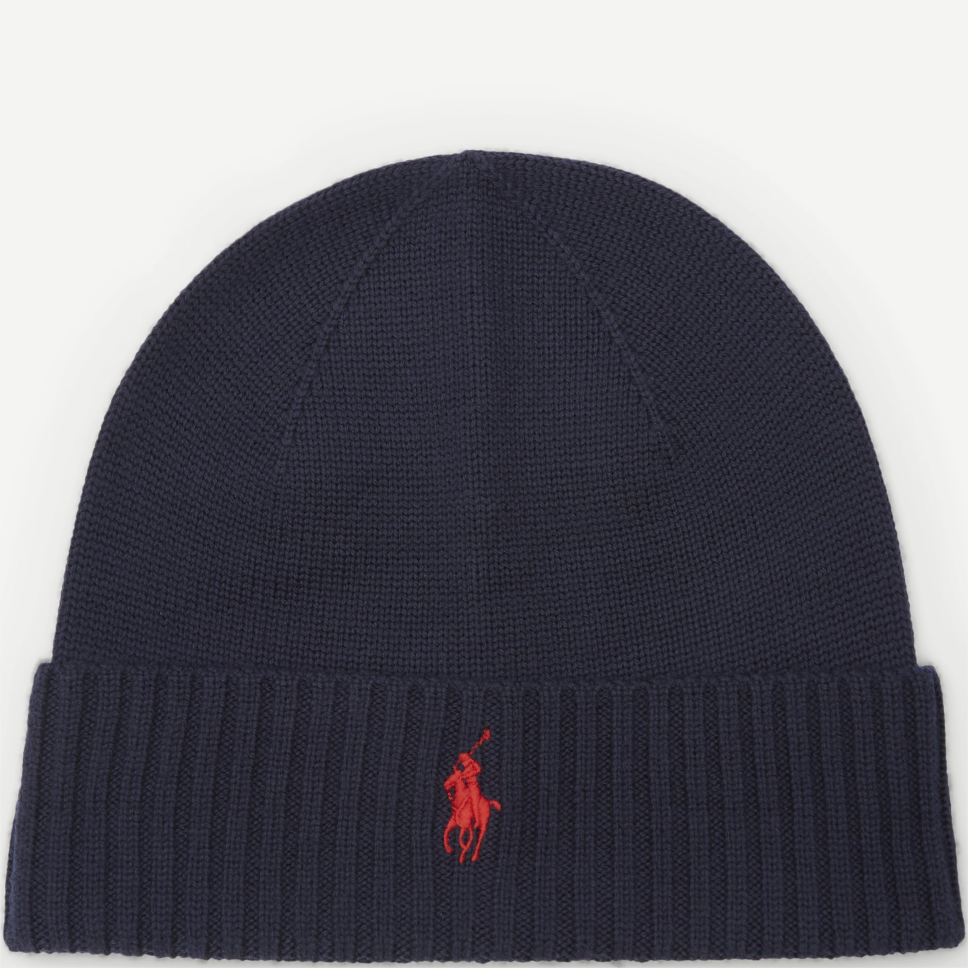 Knit Beanie - Caps - Blå