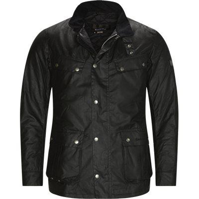 Duke Waxed Jacket Regular fit   Duke Waxed Jacket   Sort