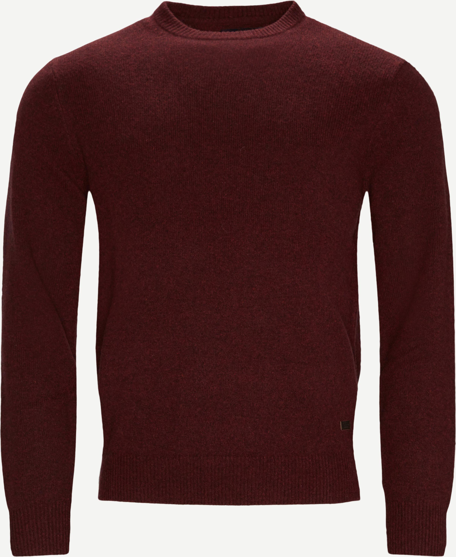 Knitwear - Regular fit - Bordeaux
