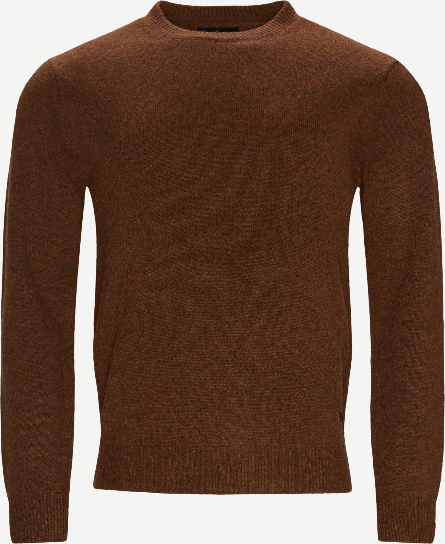 Knitwear - Regular fit - Brown