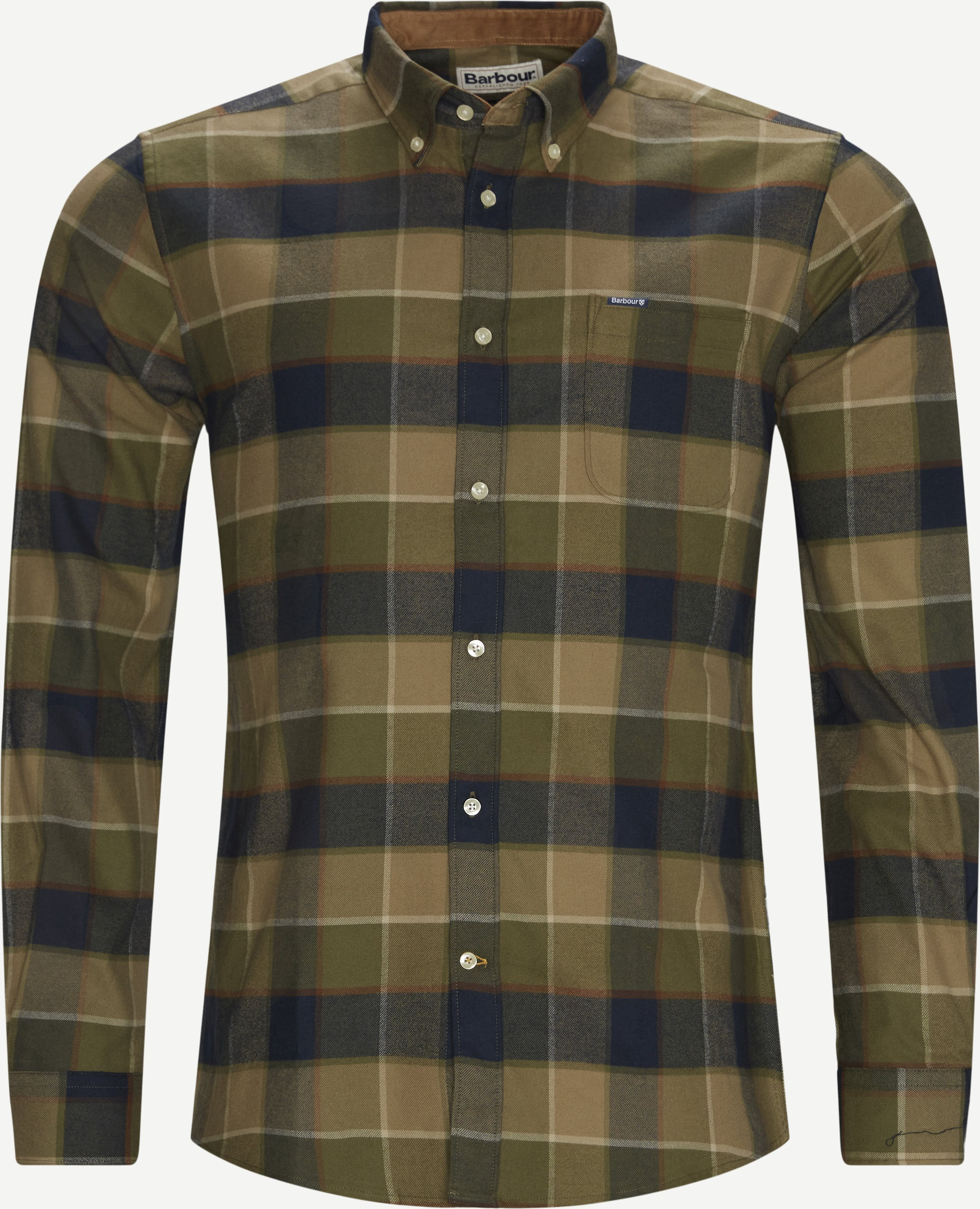 Valley Check Skjorte - Skjorter - Tailored fit - Army