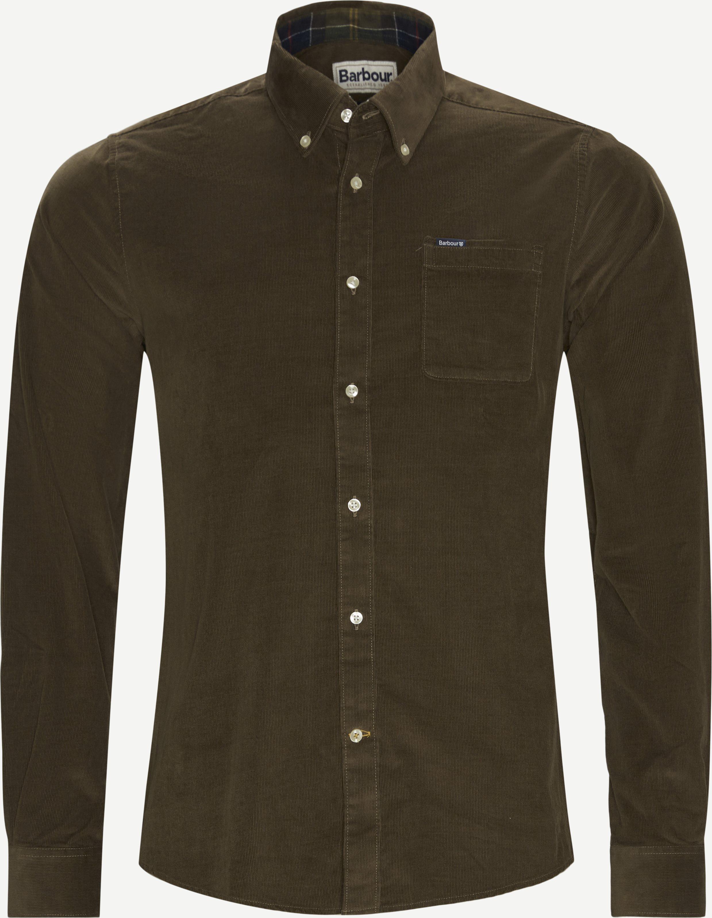 Skjortor - Tailored fit - Brun