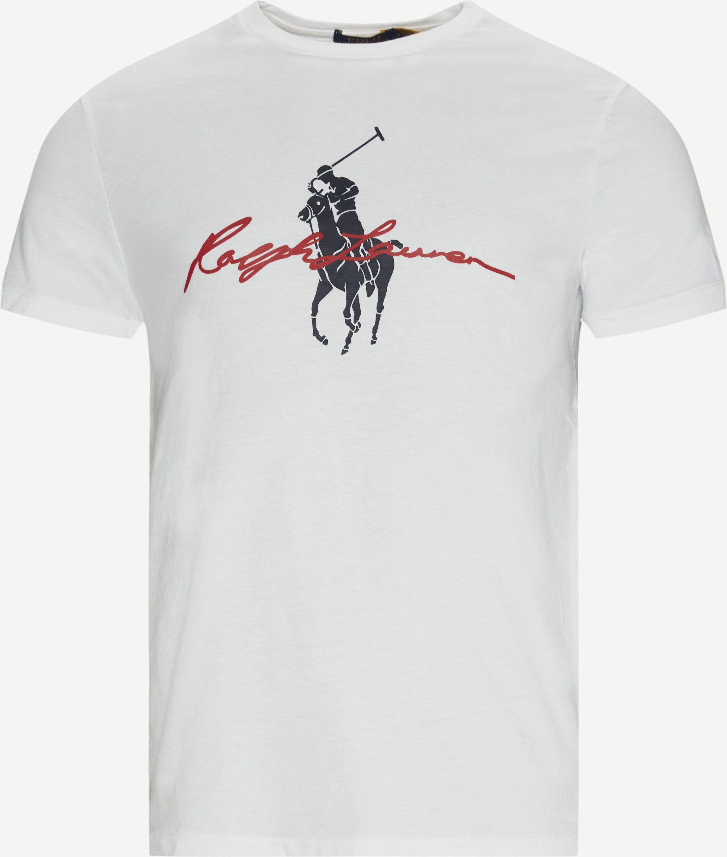 Logo T-shirt - T-shirts - Custom fit - Hvid