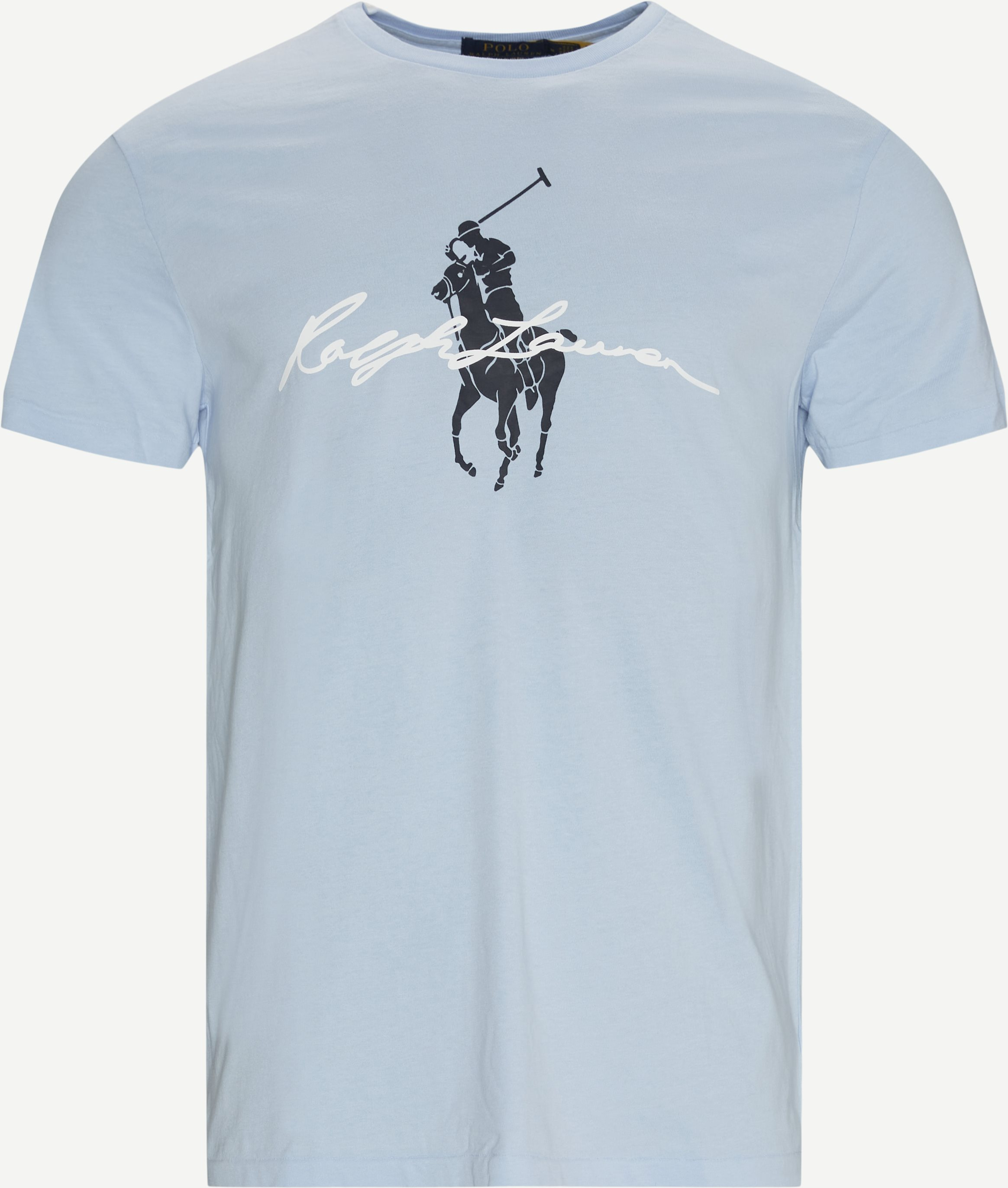 Logo T-shirt - T-shirts - Custom fit - Blå