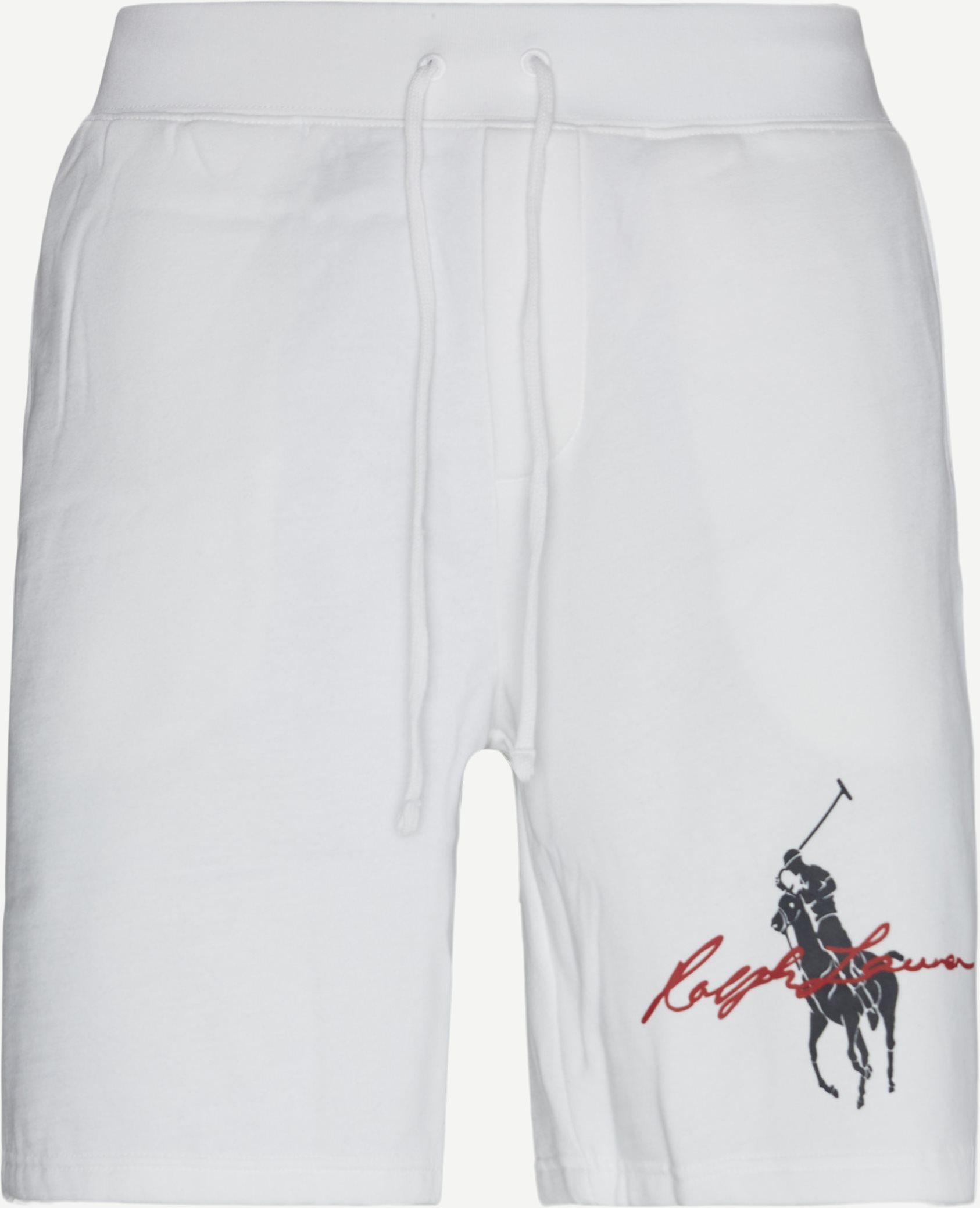 Sweatshorts - Shorts - Regular fit - Hvid