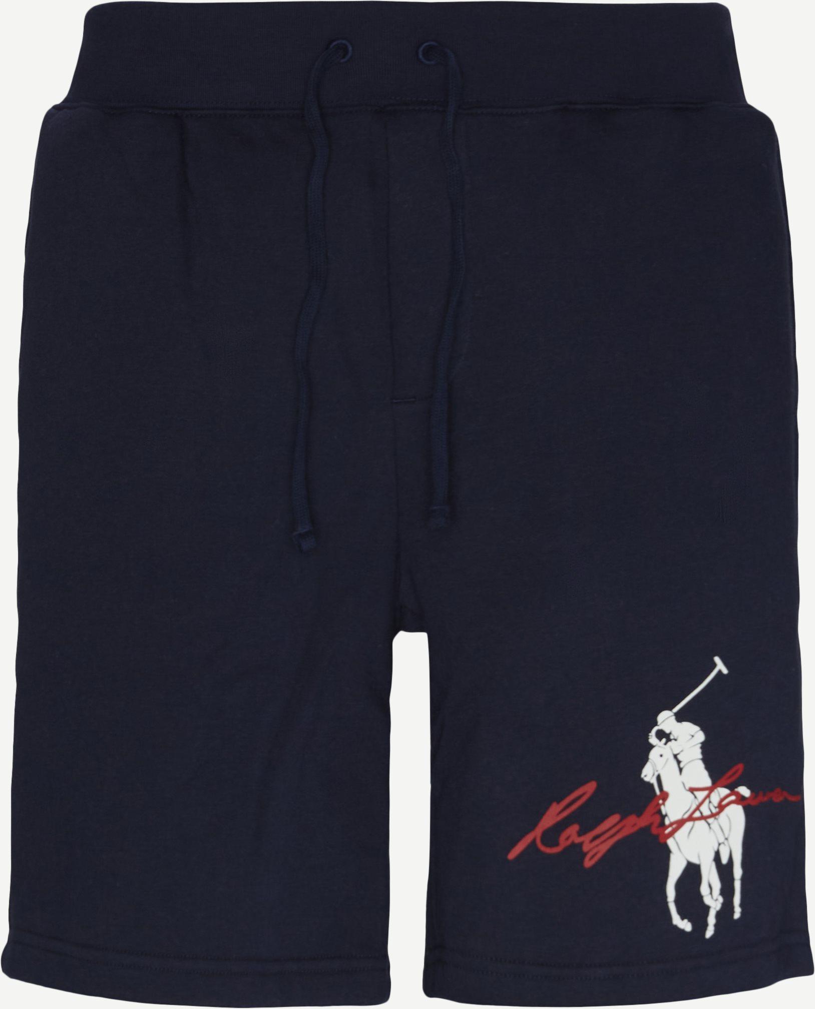 Sweatshorts - Shorts - Regular fit - Blå
