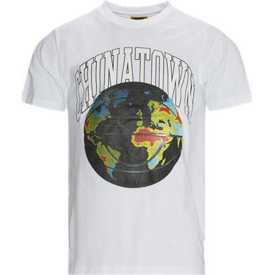 SMILEY CLOBAL CITIZEN Logo T-shirt Regular fit | SMILEY CLOBAL CITIZEN Logo T-shirt | Hvid