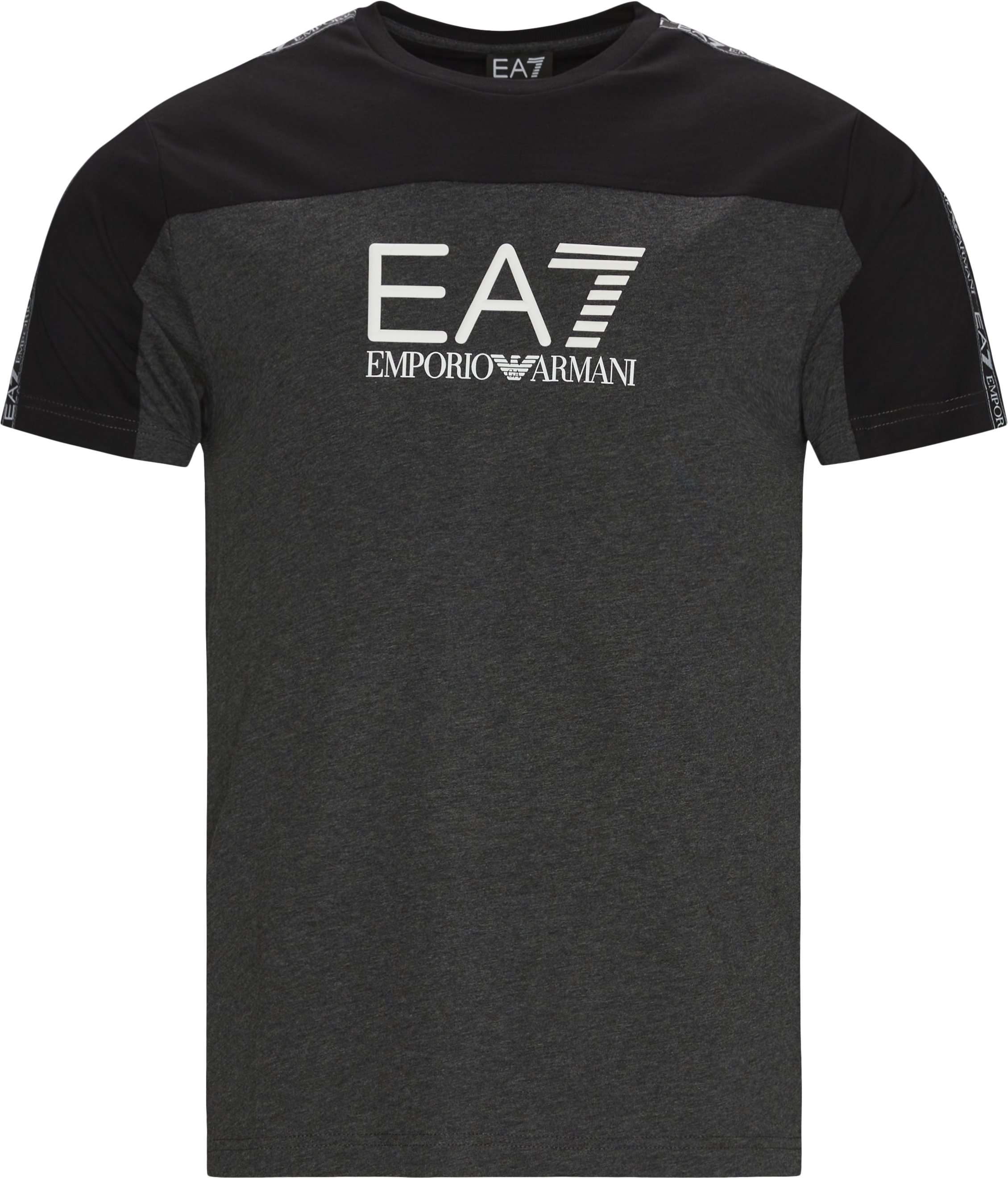 PJ7CZ Logo T-shirt - T-shirts - Regular fit - Grå