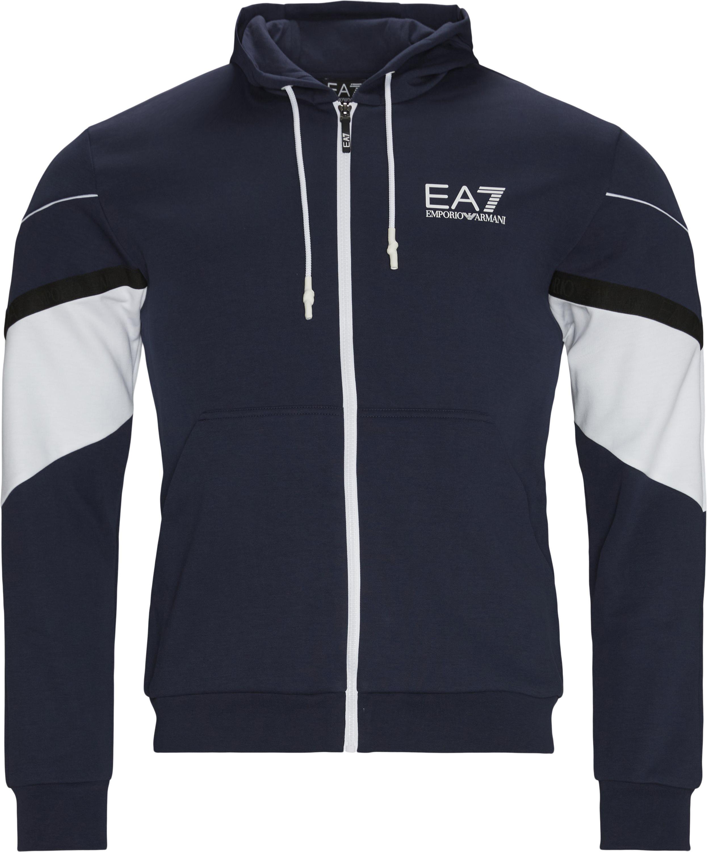 Sweatshirts - Regular fit - Blå
