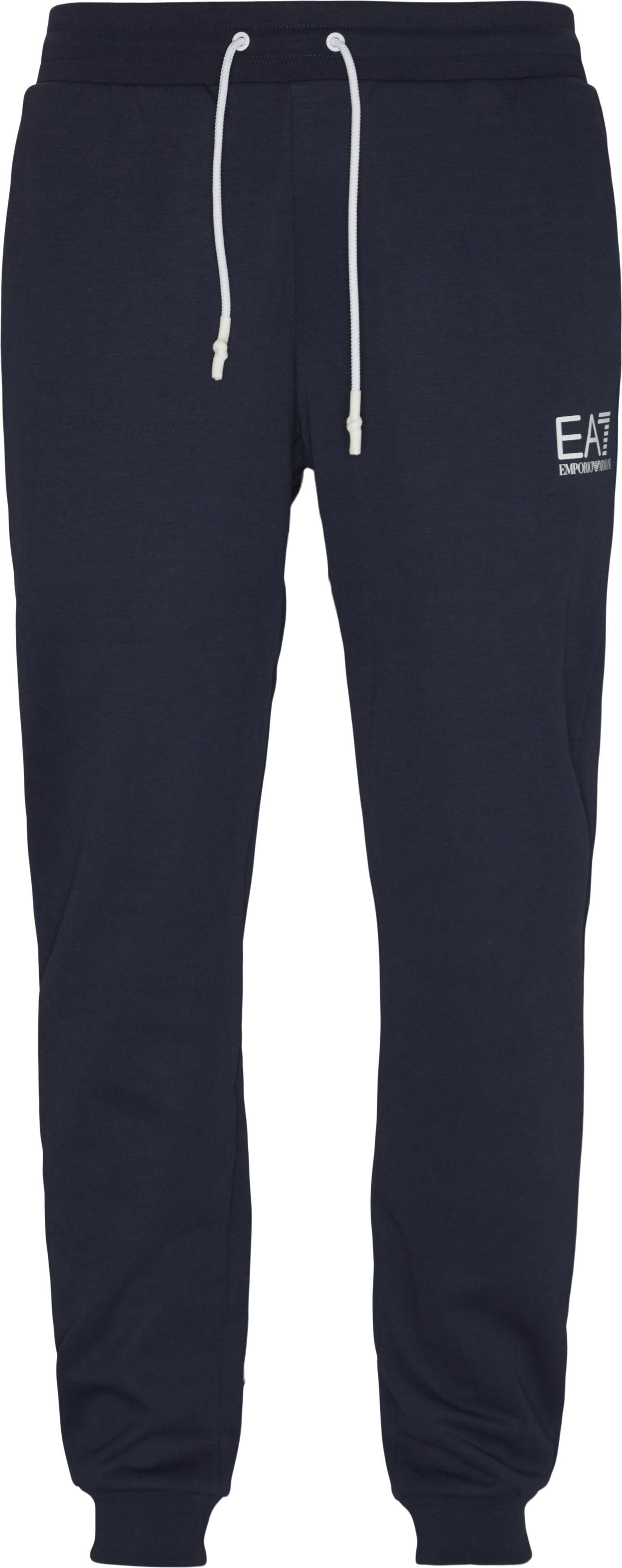 Byxor - Regular fit - Blå