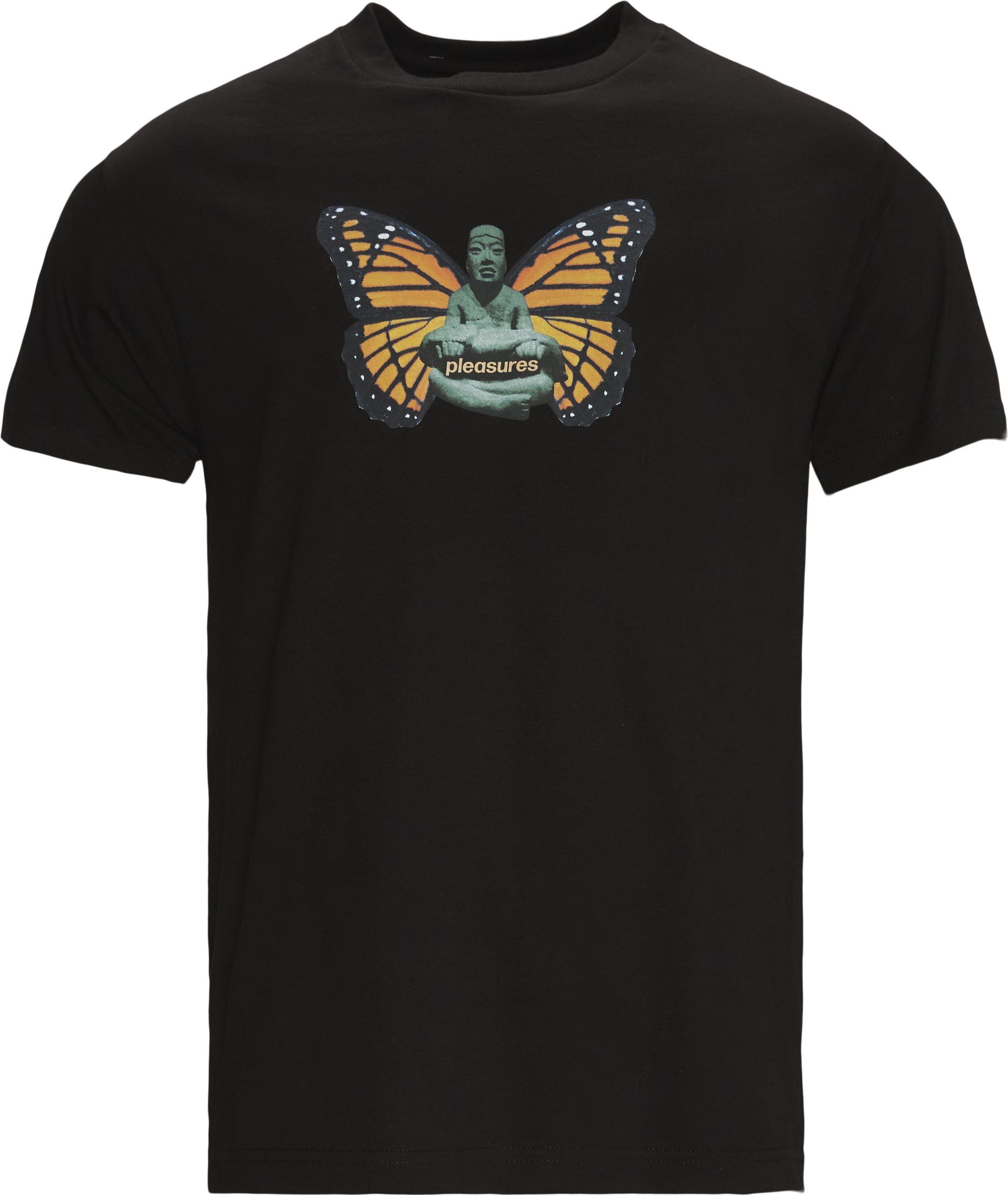 Meditate Tee - T-shirts - Regular fit - Sort