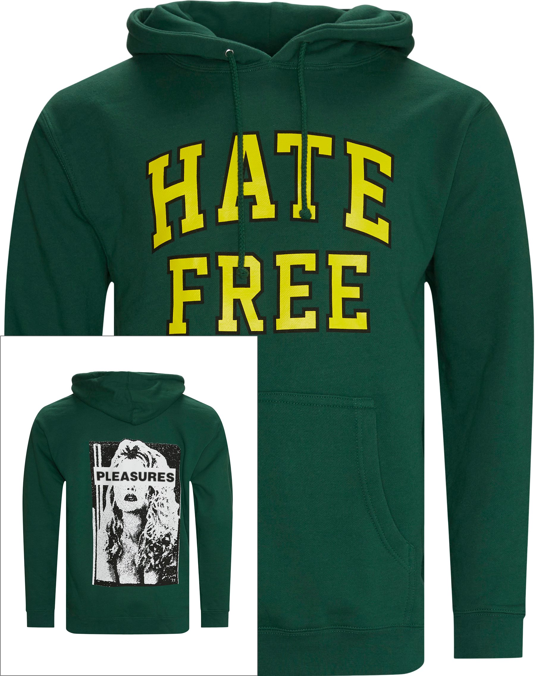 Sweatshirts - Regular fit - Grön