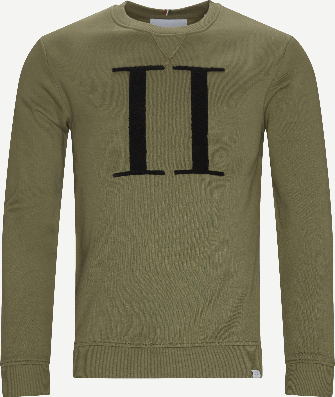 Sweatshirts - Regular fit - Grün