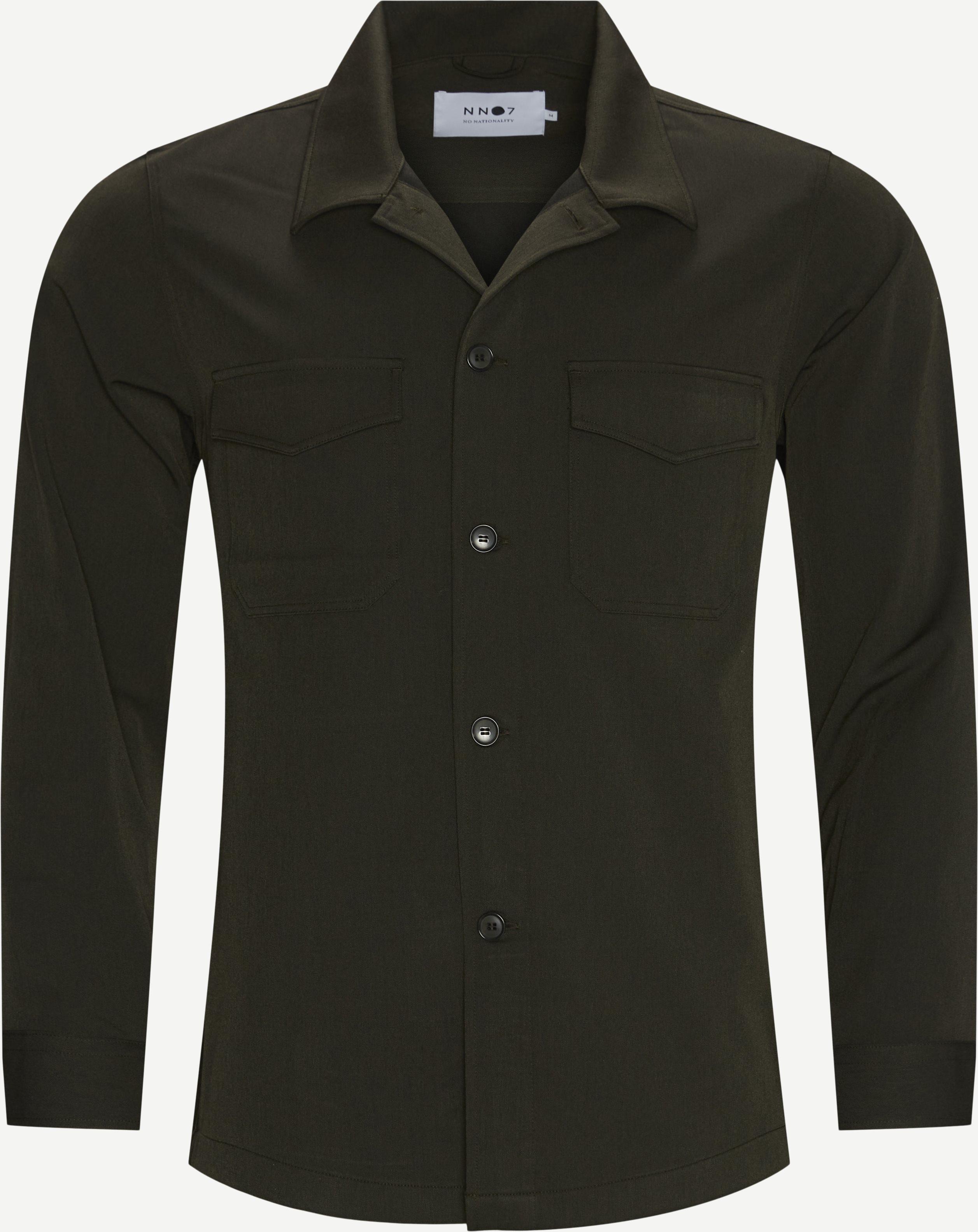 Bernard 1250 Overshirt - Overshirts - Regular fit - Army