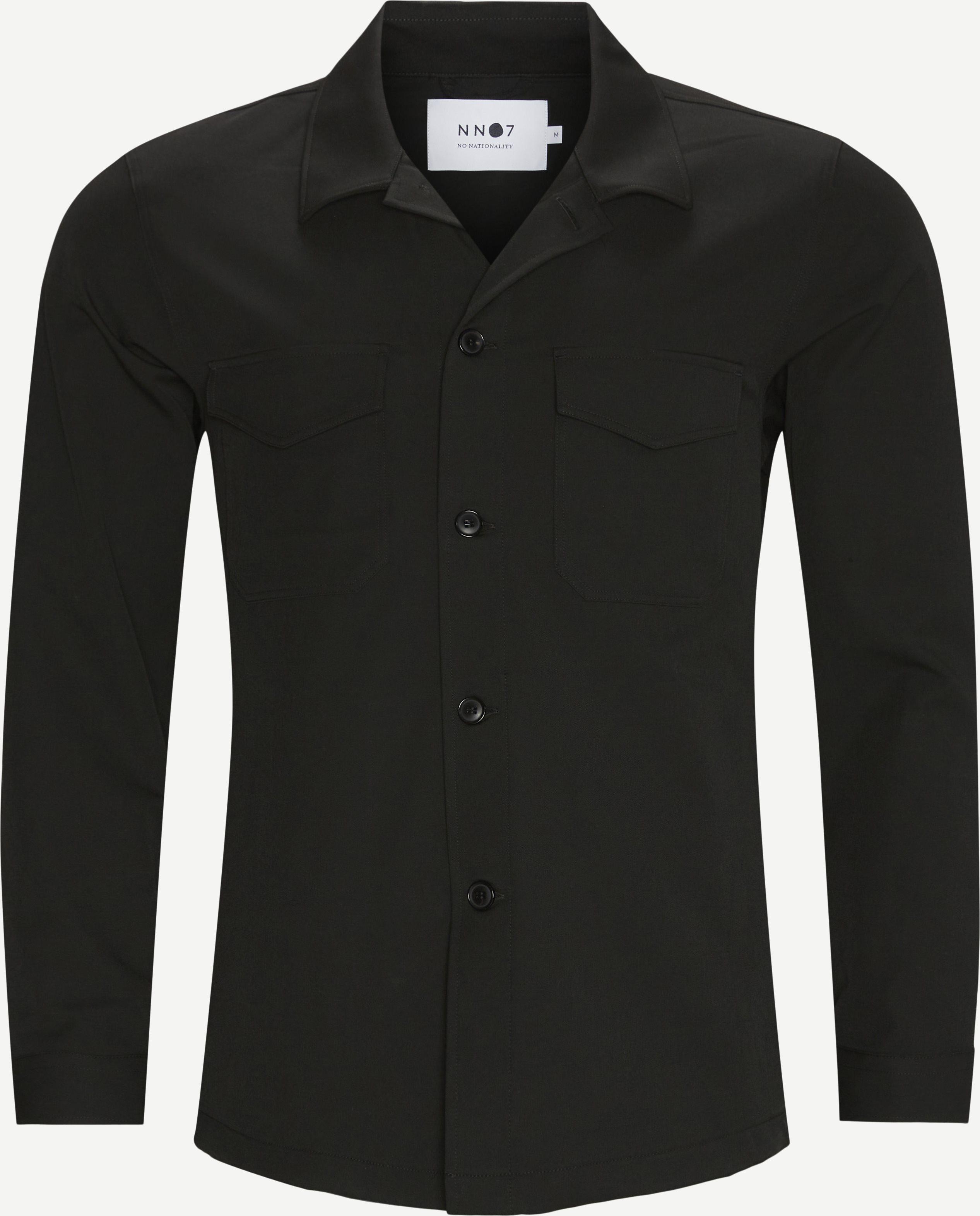 Bernard 1250 Overshirt - Overshirts - Regular fit - Sort