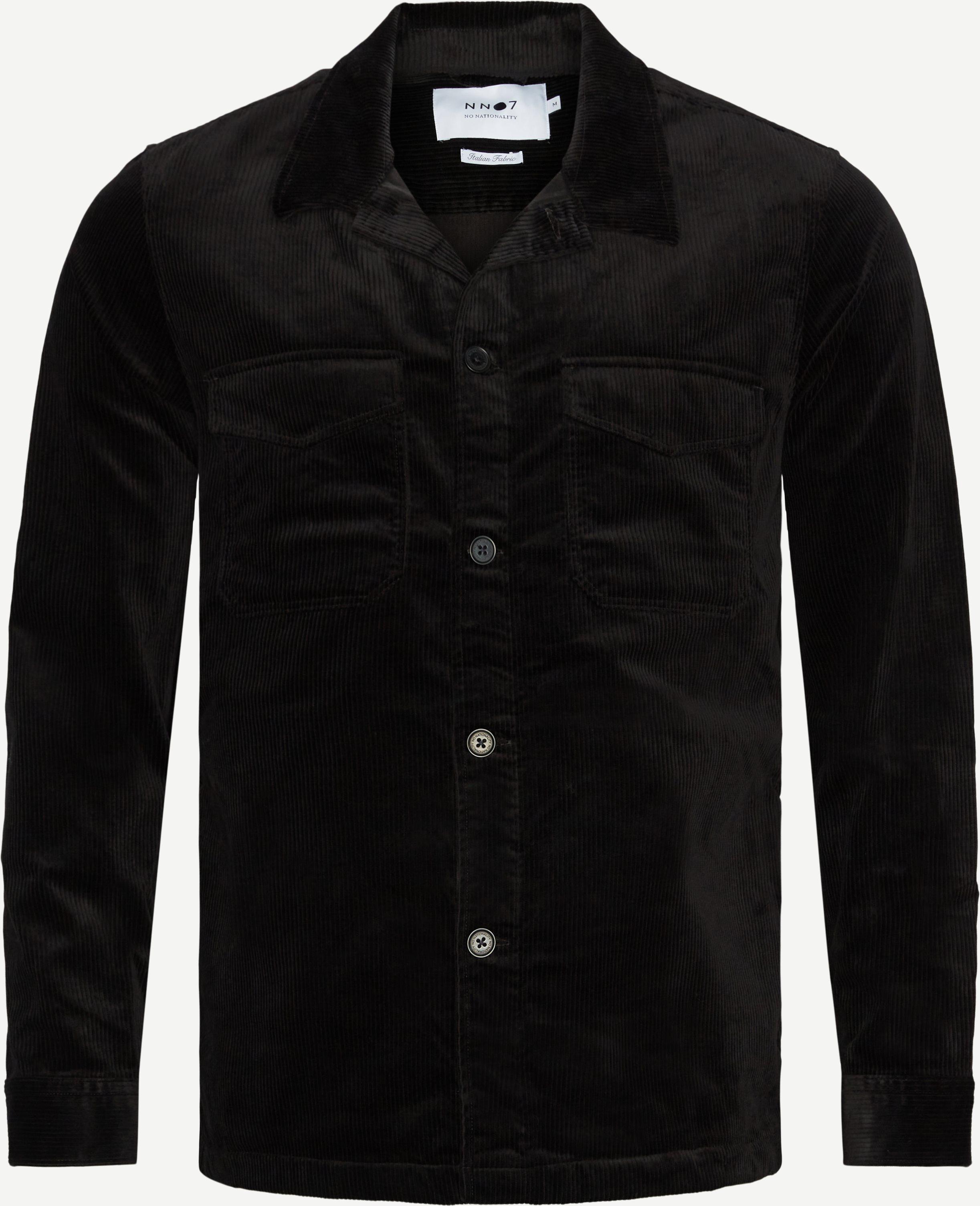 Bernard 1322 Overshirt - Overshirts - Regular fit - Sort