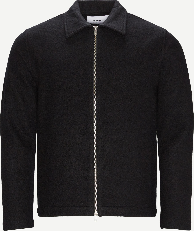Ivan 6398 Overshirt - Overshirts - Regular fit - Sort