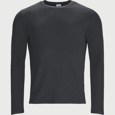 Clive Langærmet T-shirt Regular fit | Clive Langærmet T-shirt | Grå
