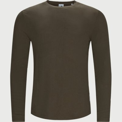Clive Langærmet T-shirt Regular fit | Clive Langærmet T-shirt | Sand
